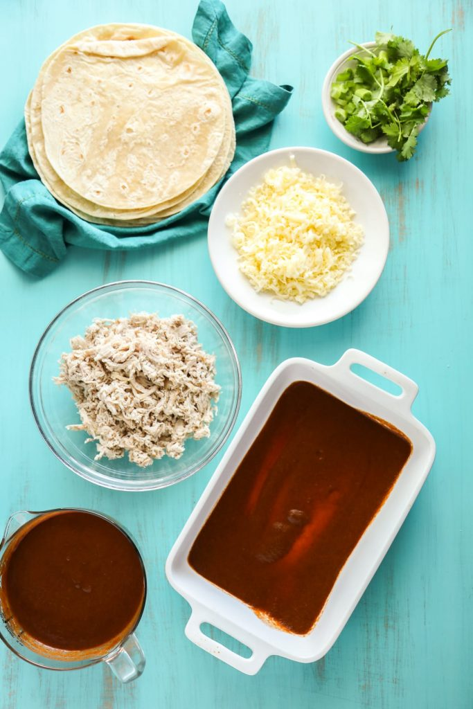 So easy! I love the flavor and texture of this sauce. Plus, it makes enough for two enchilada meals.