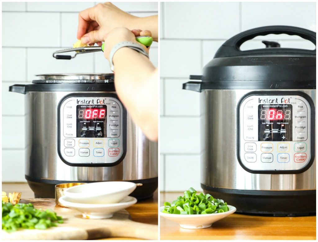 So good! Instant Pot Teriyaki-Style Chicken. Made in under 30 minutes, no hands-on time. Literally just dump the ingredients in the pot and cook. Slow cooker option, too.