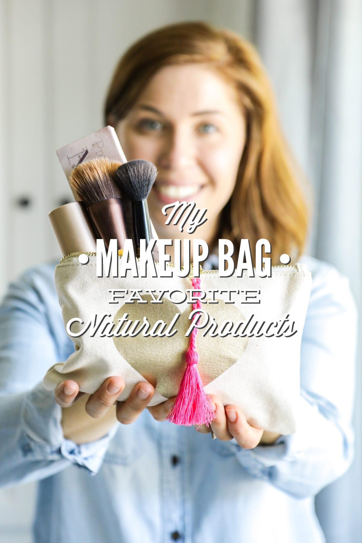 My Makeup Bag: Favorite Natural Products