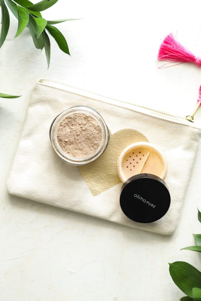 My favorite natural makeup products. Non-toxic products that work!