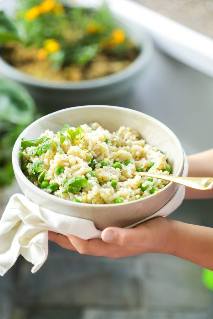 Instant Pot (Pressure Cooker) Risotto! So easy, so good. Only 10 minutes, start to finish.