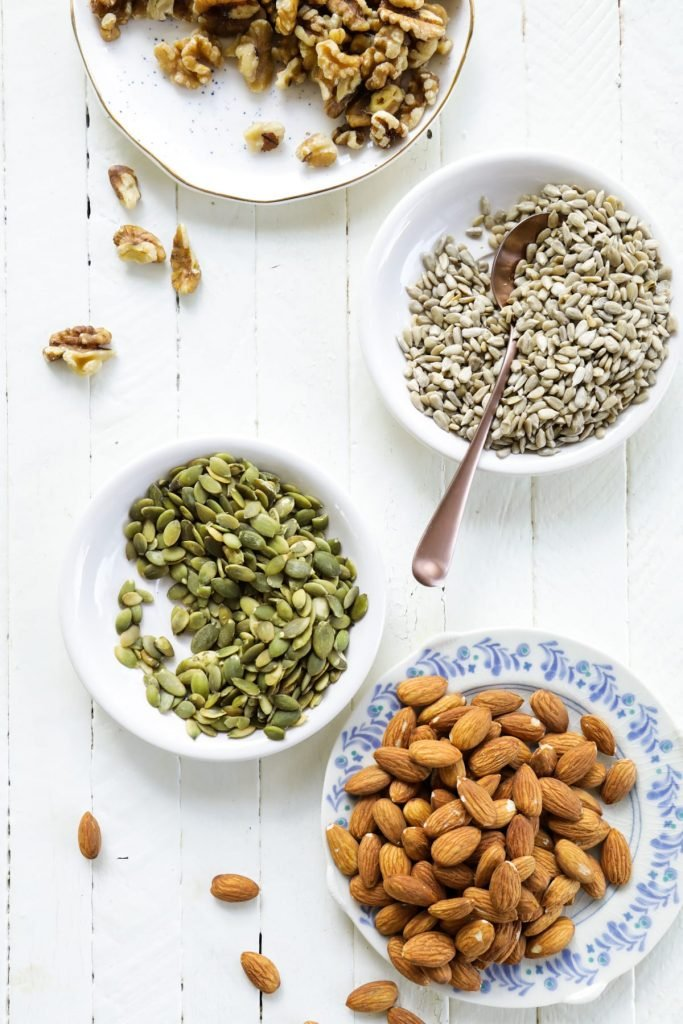 An easy-to-make grain and gluten-free granola made with nuts and seeds.