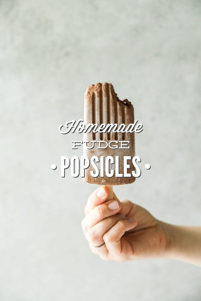 So good! No dairy or refined sugar. Super simple ingredients. Easy to make--just blend and pour. Homemade fudgesicles.