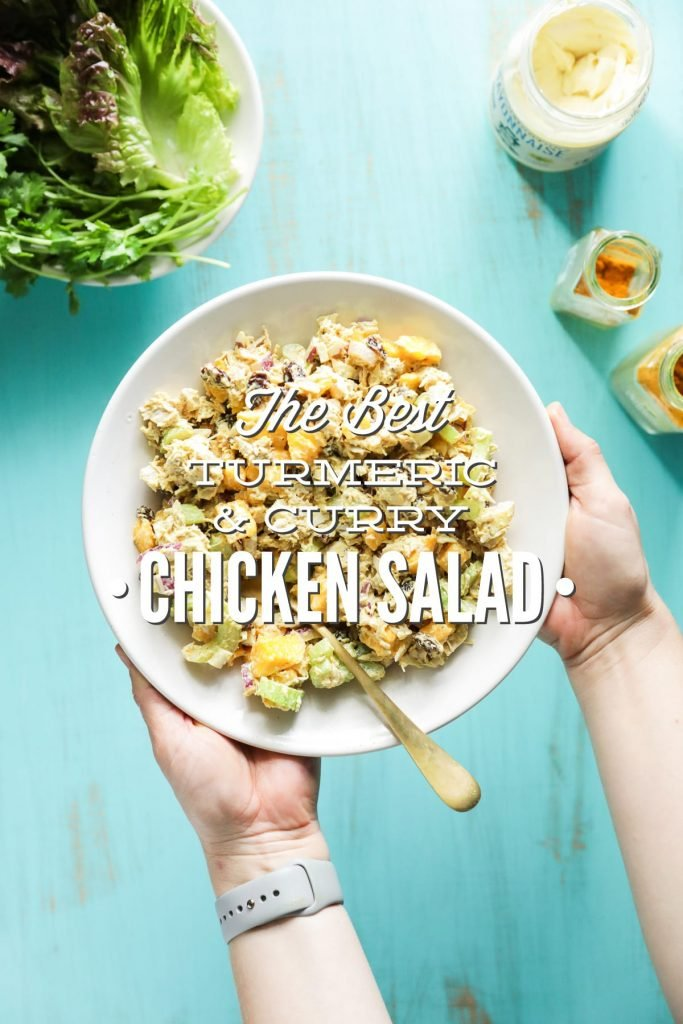 A balance of sweet and savory ingredients come together to make the best curry chicken salad.