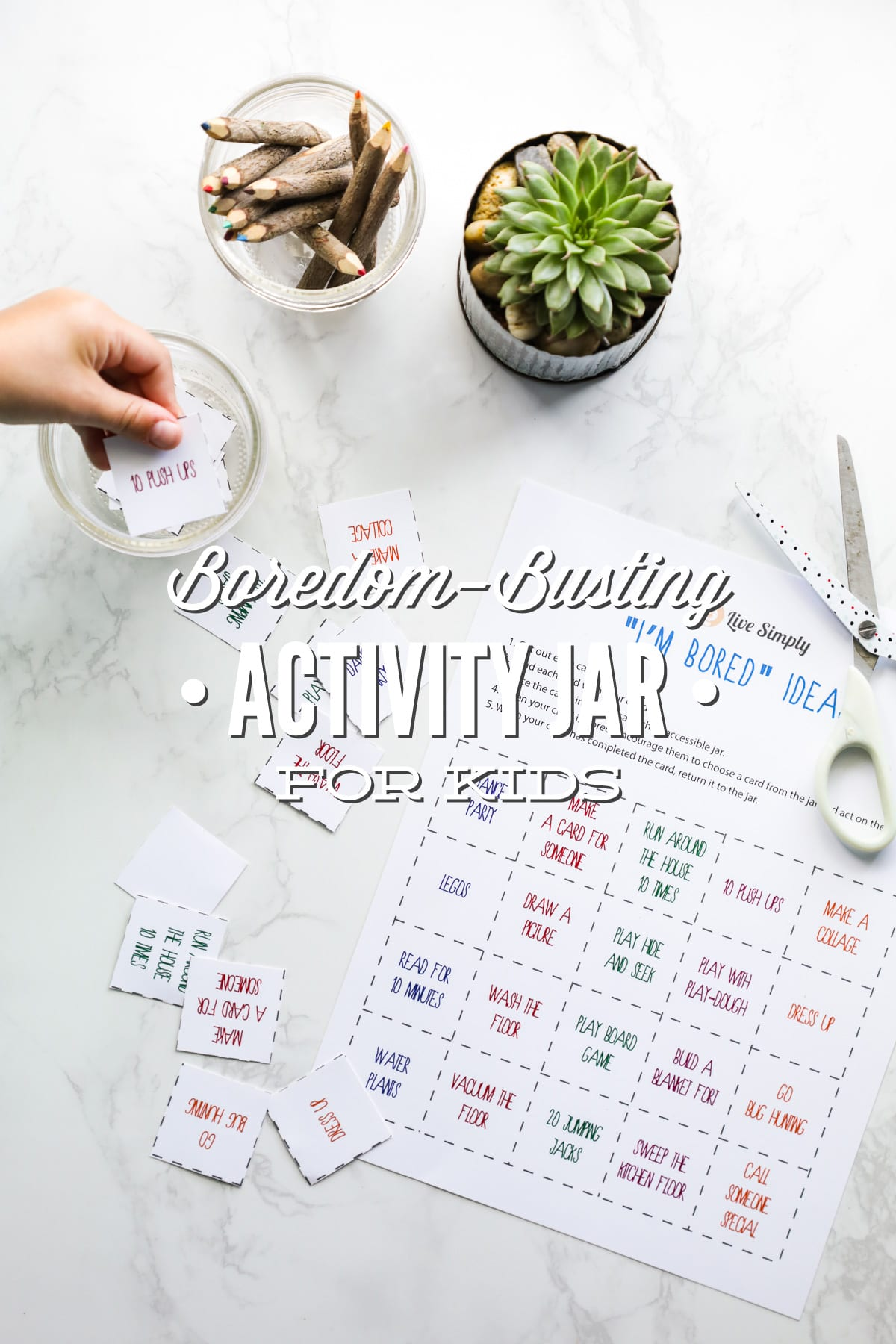 The Boredom Busting Activity Jar For Kids Aka I M Bored