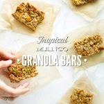 Tropical Mango Granola Bars