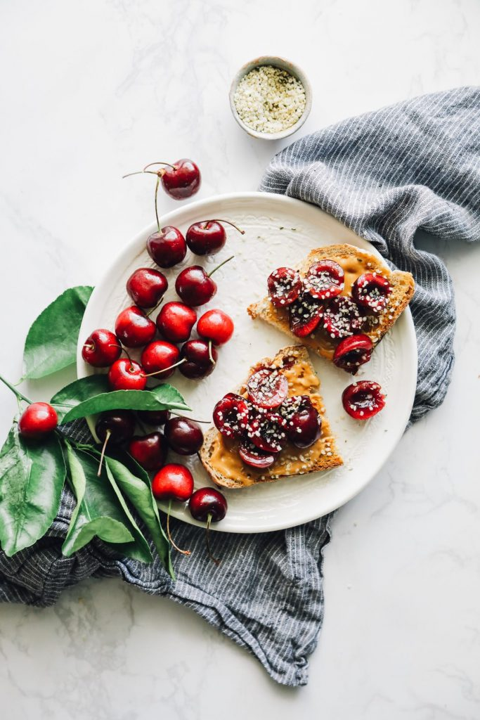 So simple, so good! Absolute favorite summer breakfast--no cooking, no fuss! Plus, the cherries are amazing on ice cream, yogurt, or just enjoyed as-is.