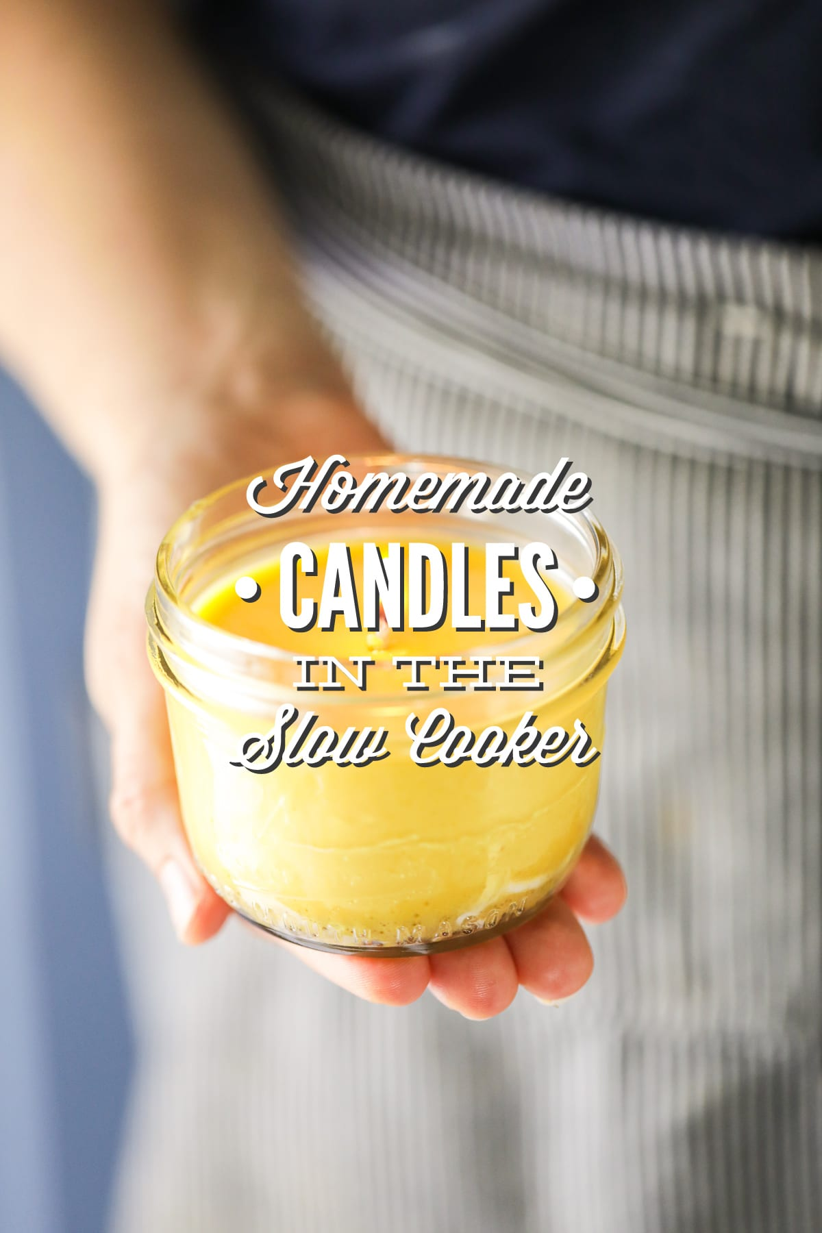 Homemade Candles in the Slow Cooker