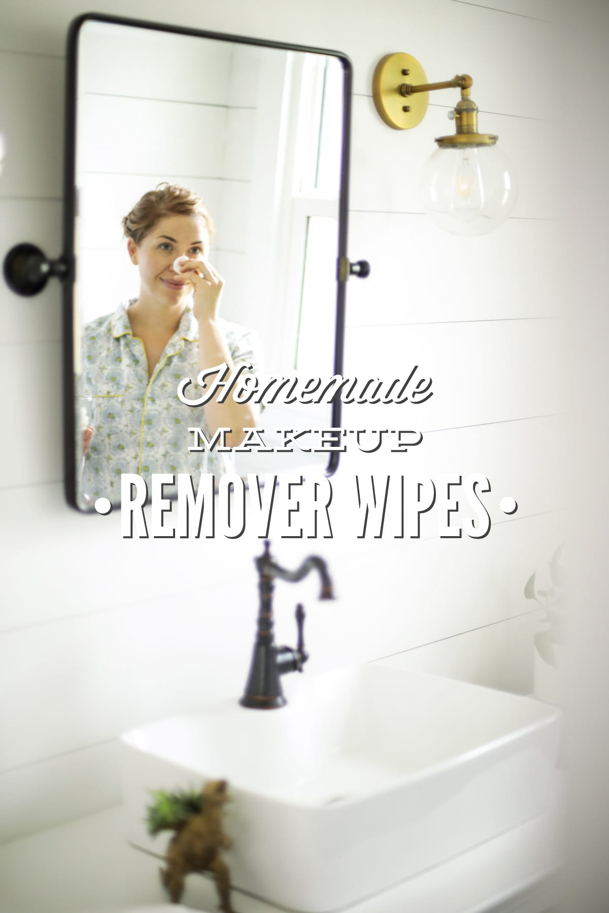 Gentle Homemade Makeup Remover Wipes