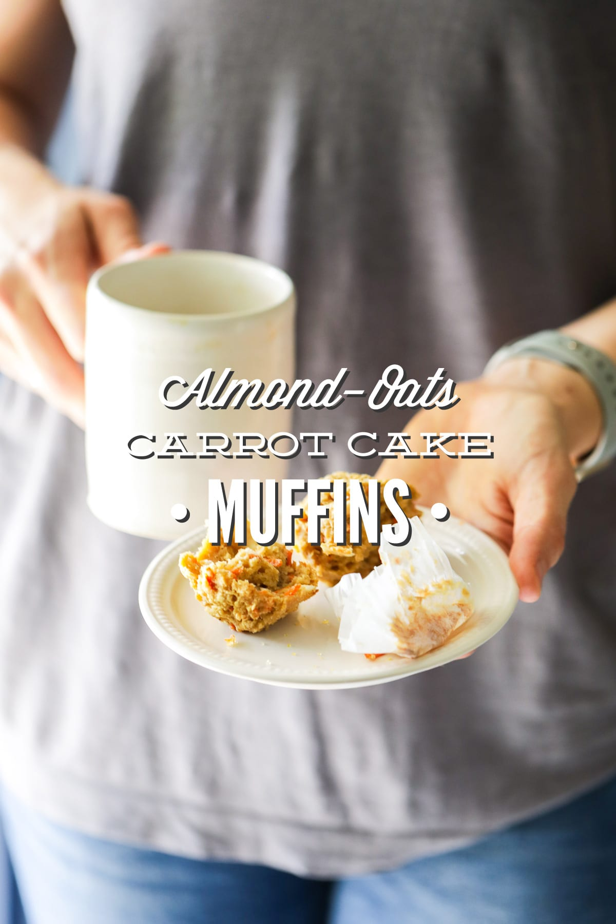 Almond-Oat Carrot Cake Muffins
