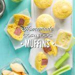 Homemade Corndog Muffins