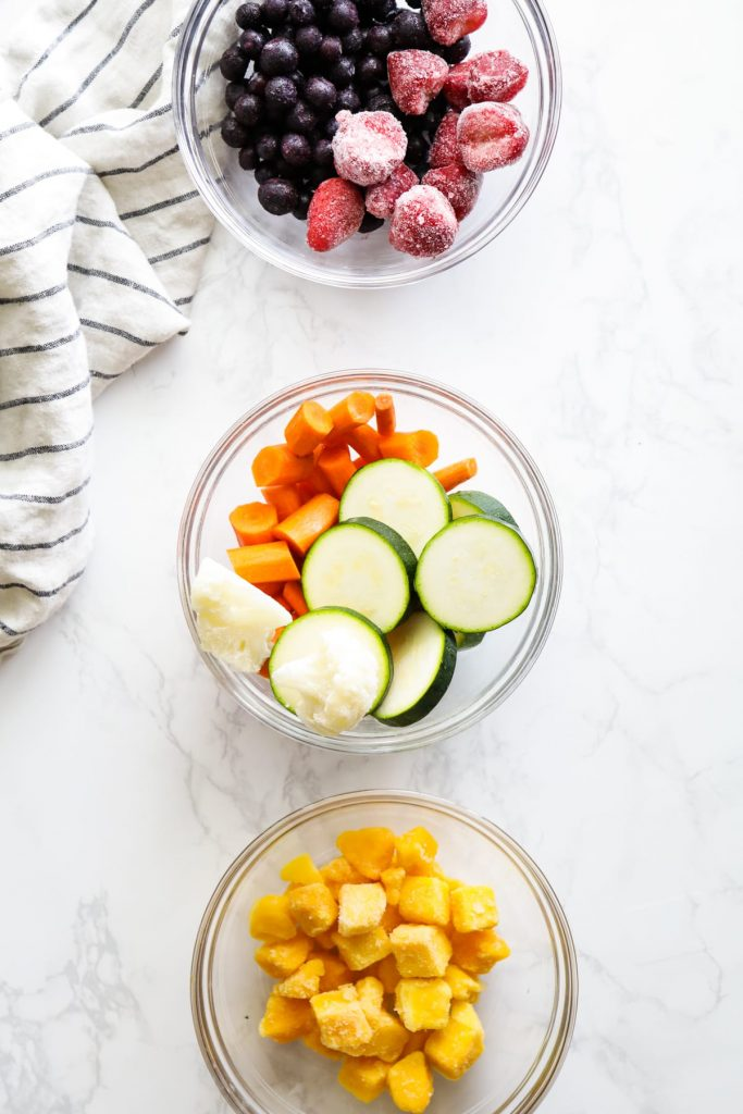 How to make your own custom smoothie packs using a variety of fruit, veggies, greens, and other nutrient-rich ingredients. Make-ahead, freezer-friendly.