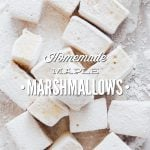 Homemade Marshmallows Recipe without Corn Syrup