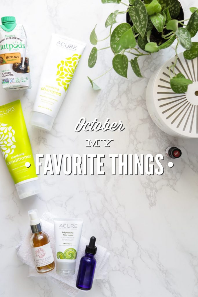 My October Favorite Things include some amazing skincare options along with our family favorite DIY, beeswax candles. And I'm even looking ahead to Christmas gifts!