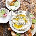 Baba Ganoush Roasted Eggplant Dip Spread