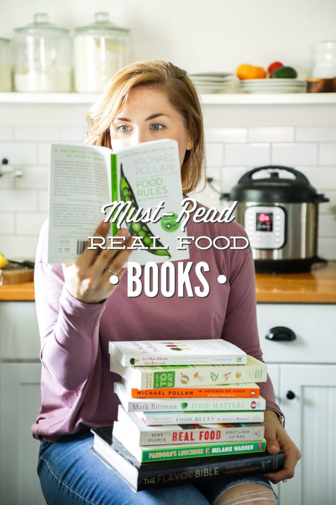 Wondering how to get started on a real food journey? This list of books were a great help to me and I hope they will help you as well.