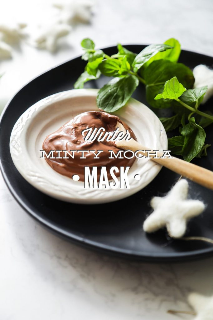 A seasonal face mask made with cacao powder, yogurt, and honey. A hydrating and exfoliating mask that's rich in antioxidants. #diy #homemade #beauty
