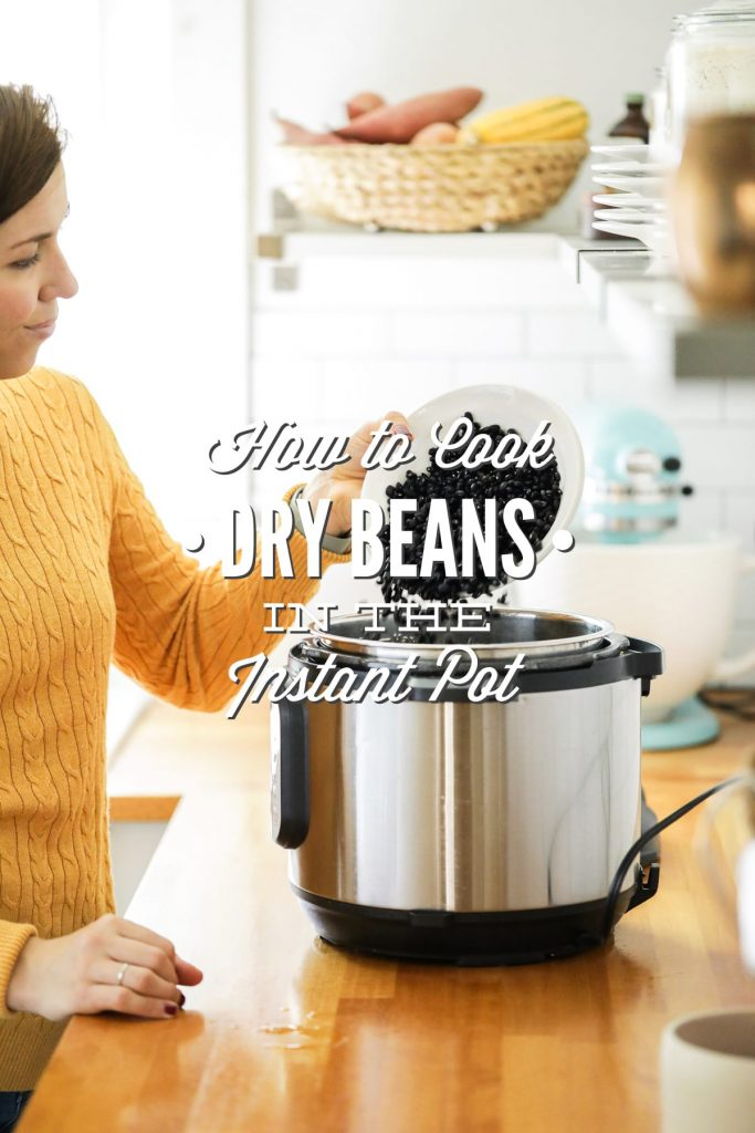 The easiest way to cook dry beans! No soaking required. All done in an electric pressure cooker (Instant Pot, for example).