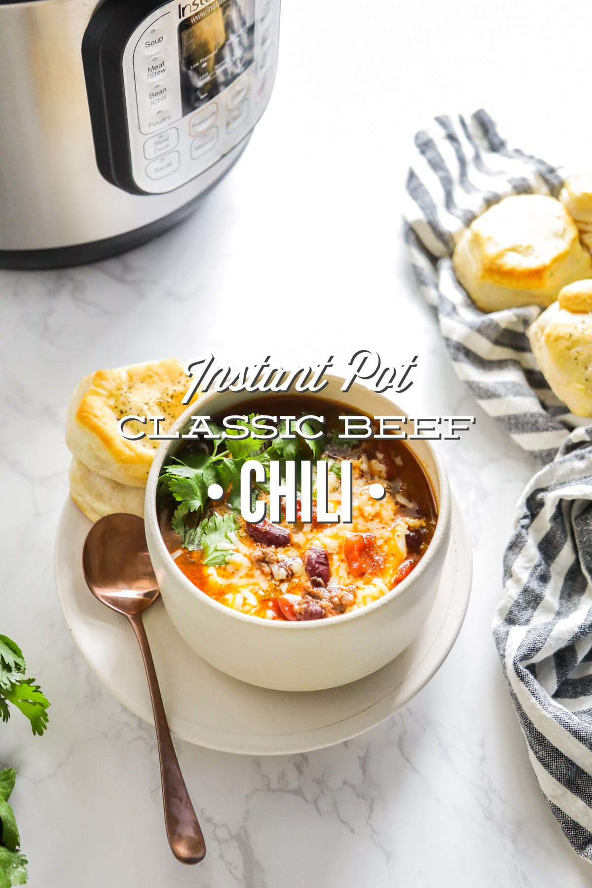 Instant Pot Classic Beef Chili