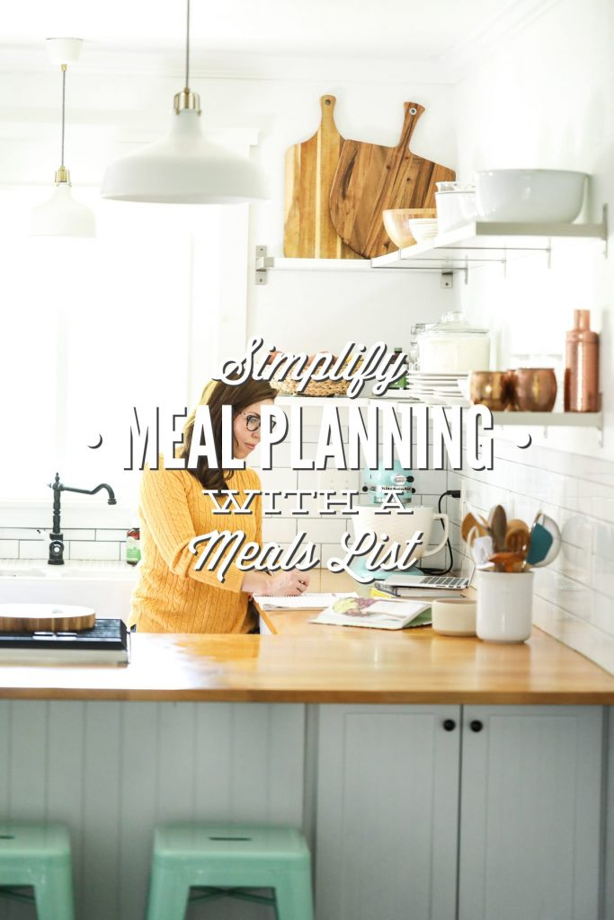 Simplify meal planning with just one piece of paper. No more frustration or complicating this task.