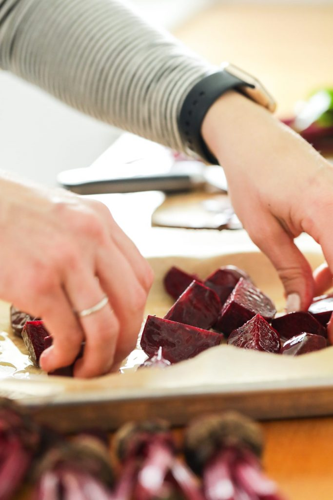 Citrus-Marinated Beets. These super easy beets are perfect for smoothies and salads. Make them ahead of time and keep them in the fridge for up to a week.