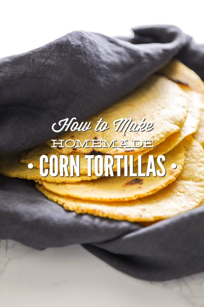 So good, so easy! Homemade corn tortillas without any junky ingredients.