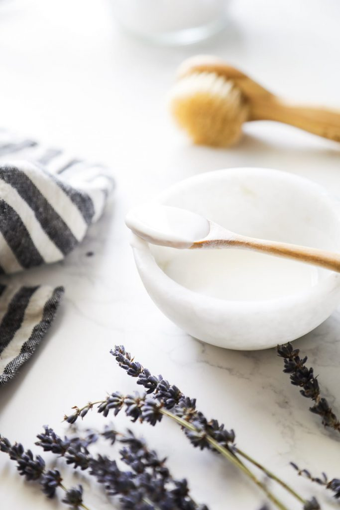 A simple, homemade facial exfoliator made with just two kitchen ingredients.