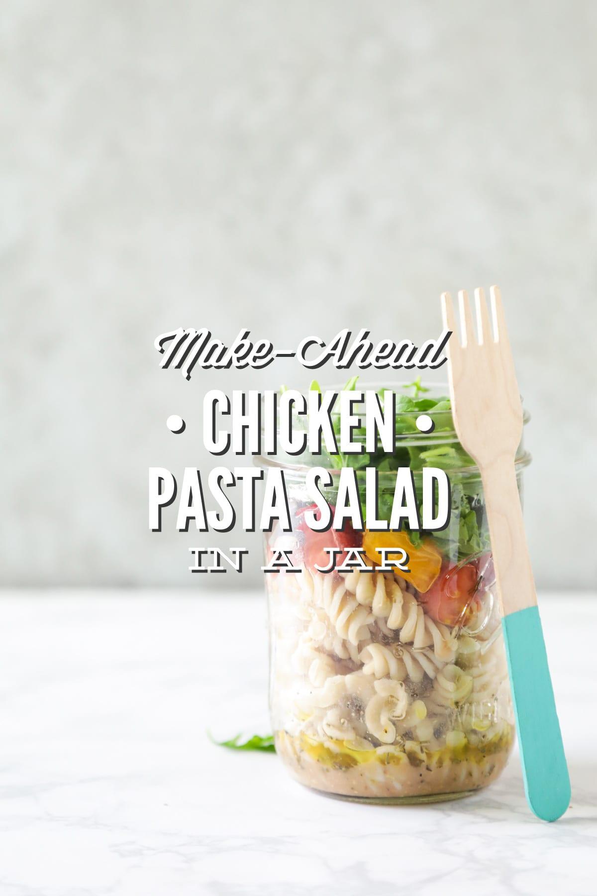 Make-Ahead Chicken Pasta Salad