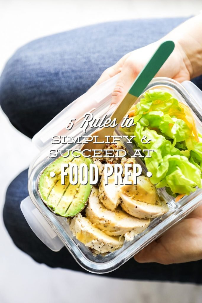 When I first started meal prepping, I made a lot of mistakes. Learn from my mistakes and follow these simple rules to succeed at meal prep!
