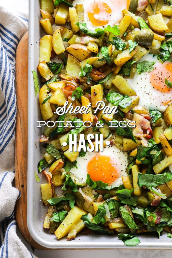 Packed with real food veggies and protein, this homemade hash makes for a nutrient-dense breakfast, brunch, or even brinner (breakfast-for-dinner)!