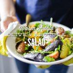 Warm Potato, Olive, and Arugula Salad