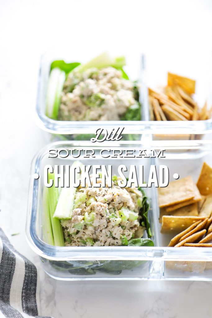 Make this herb-rich chicken salad in advance for an easy, ready-to-go lunch (or dinner) throughout the week.