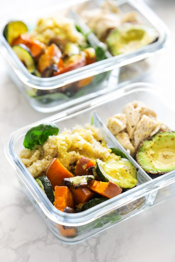 This prep-ahead, sheet-pan meal is easy to make for real-food meals on the go. Makes a great meal prep option for weekly lunches!