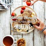 Almond Banana Flourless Muffins (Blender Muffins)