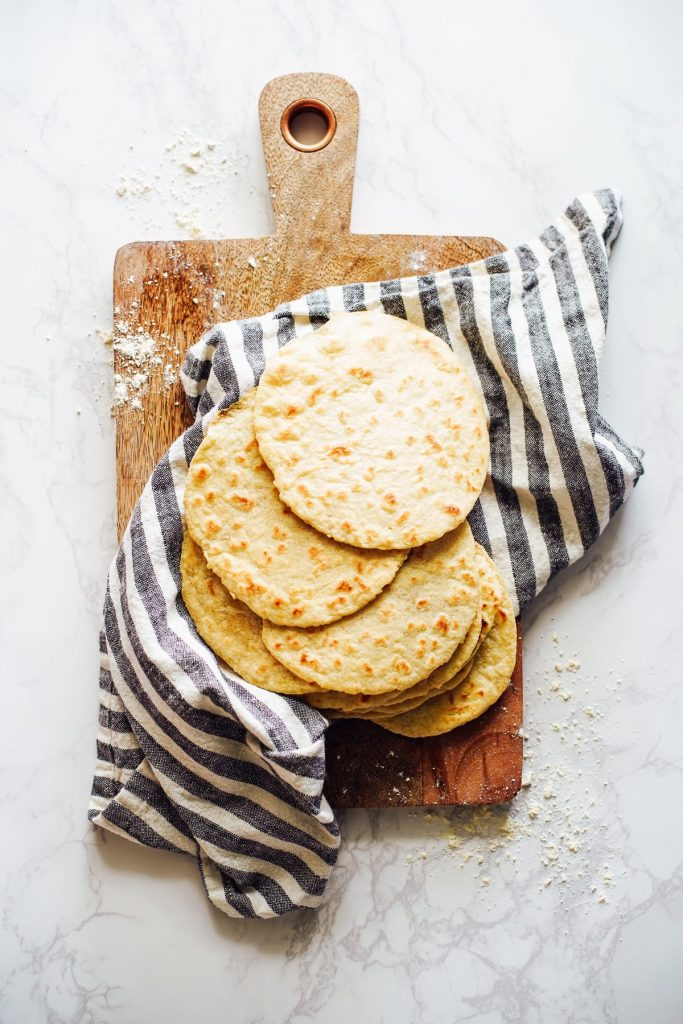 Easy, simple-ingredient homemade tortillas made with einkorn flour. Make a large batch on the weekend and save the extra to enjoy later.