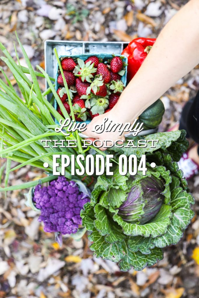 Today, on Live Simply, The Podcast, I'm talking to Taesha from the blog, The Natural Nurturer. In this episode, Taesha shares about her real food lifestyle.