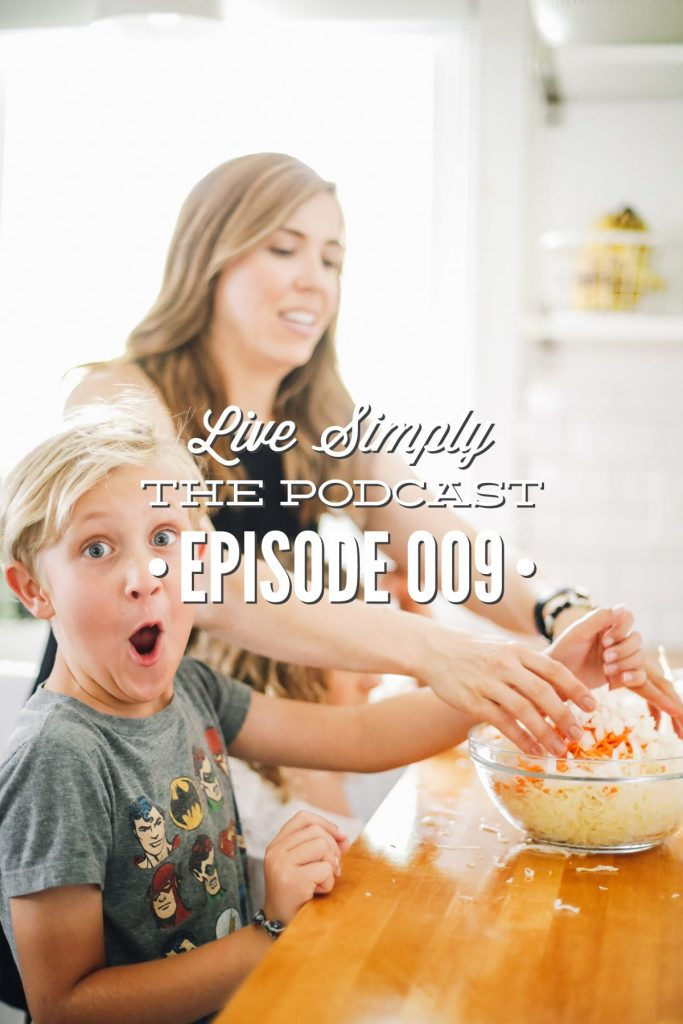 Live Simply, The Podcast Episode 009: Reader Question,