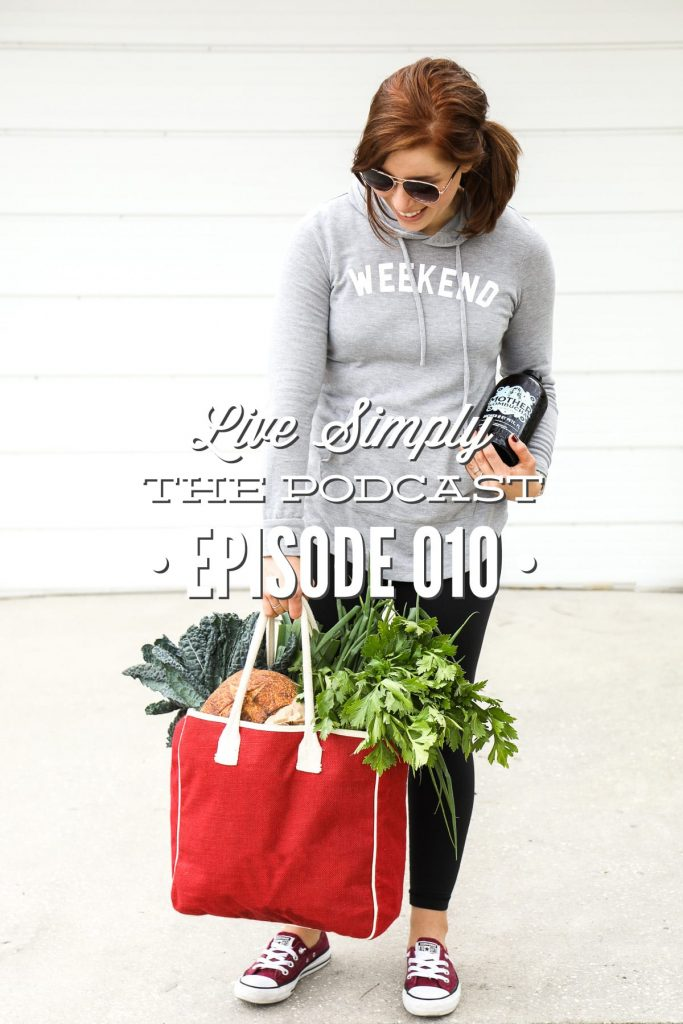 "Today, for Live Simply, The Podcast, I asked the Live Simply Community to answer, ""How do I get started with real food when my family loves real food?"""