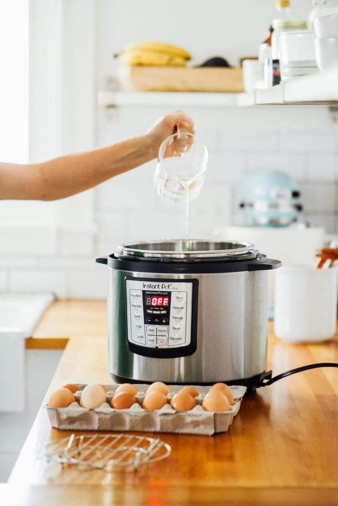 How to make the best soft and hard boiled eggs in the Instant Pot (or electric pressure cooker of your choice). The absolute BEST Instant Pot egg method!