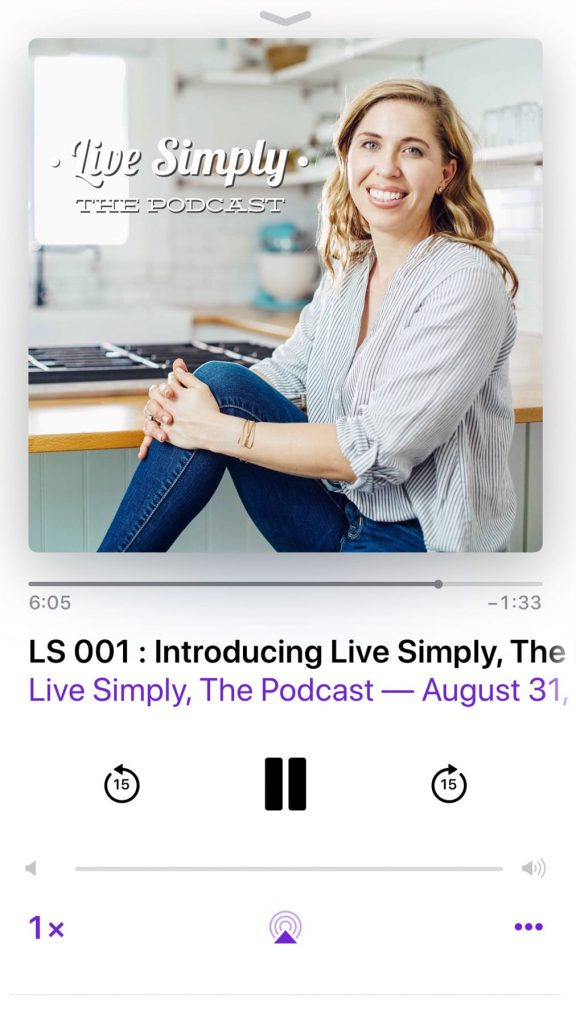 Welcome to Live Simply, The Podcast! Today, I'm going to share why I created this podcast and what you can expect in the weeks to come. Episode 001