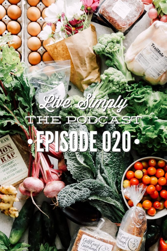 Episode 020 Live Simply Podcast: In today's podcast episode, I talk to a farmer (Travis from Trailbale Farm) about the environmentally benefical way to eat meat and how to decode egg labels.