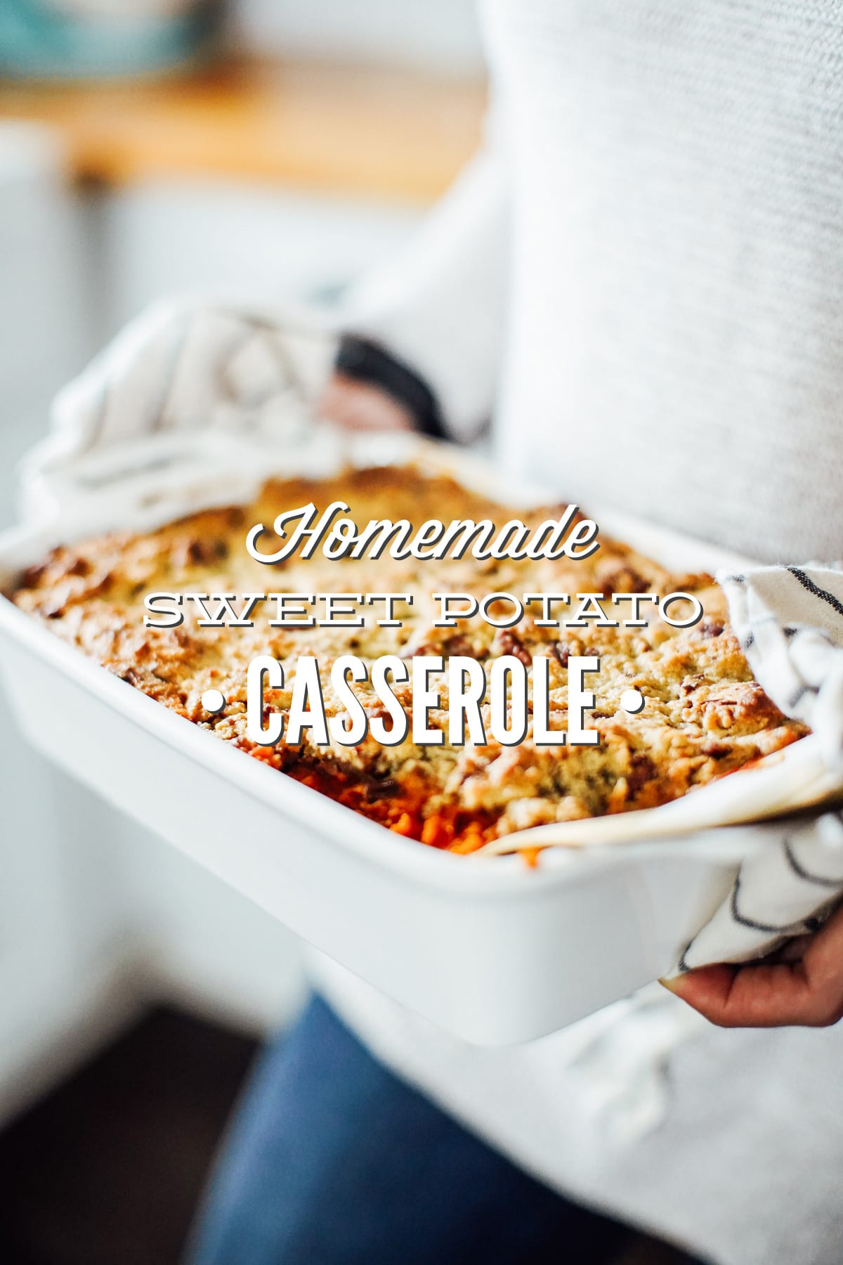 Homemade Real Food-Style Sweet Potato Casserole