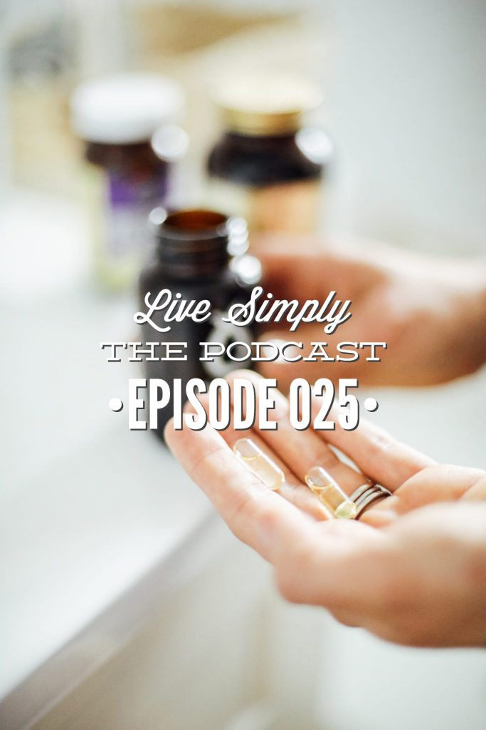 Live Simply, The Podcast Episode 025: Hormone Health Encore Adrenal Fatigue and Birth Control with Dena from Back to the Book Nutrition