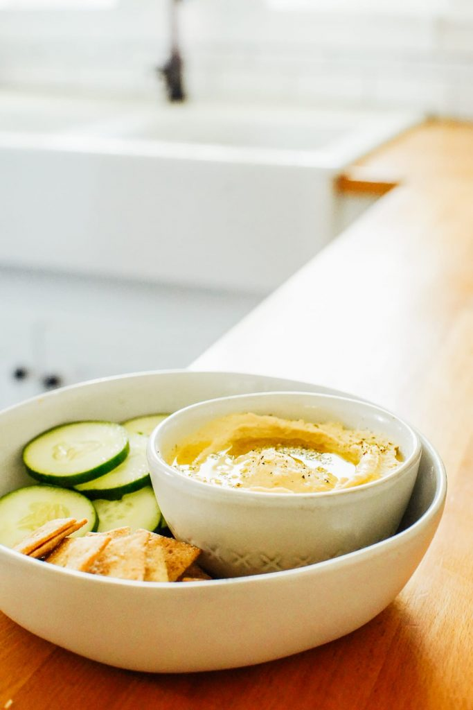 Homemade Hummus Made in the Instant Pot