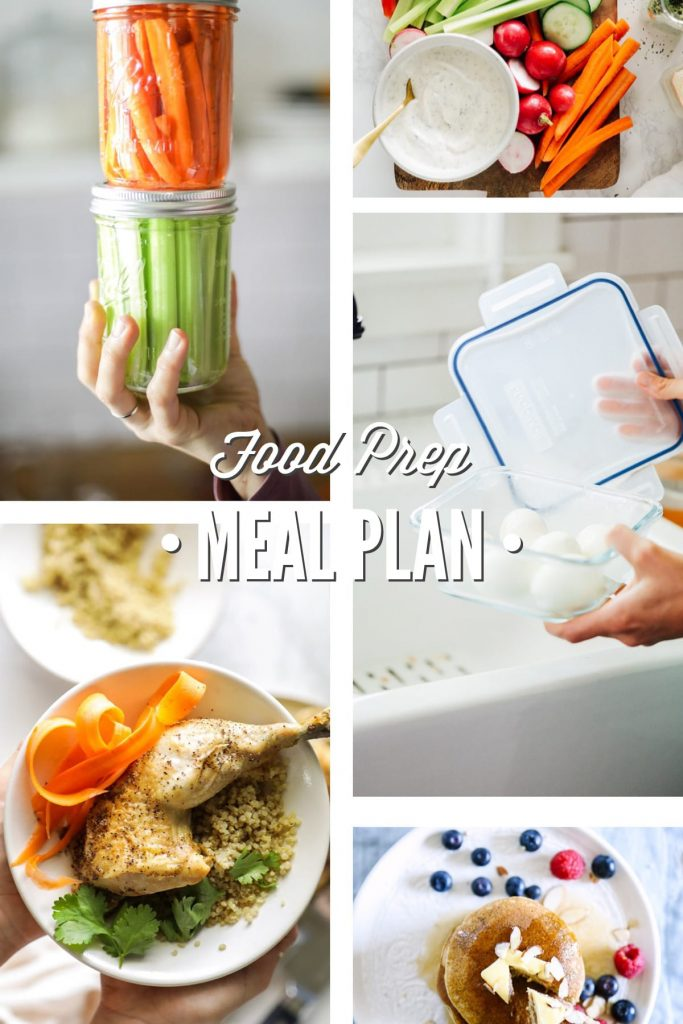 Food Prep Meal Plan
