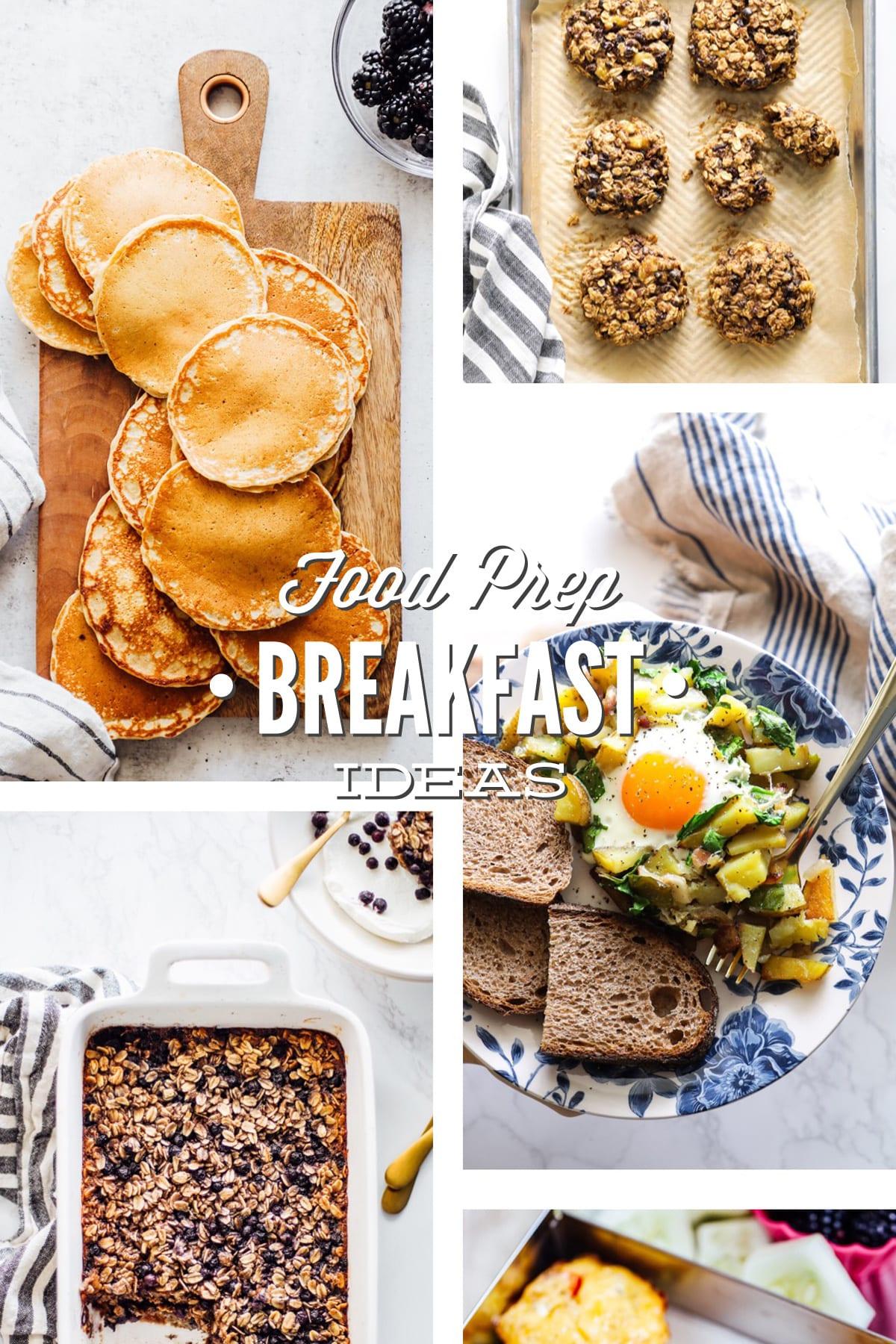 """Real Food"" Breakfast Meal Prep Ideas"