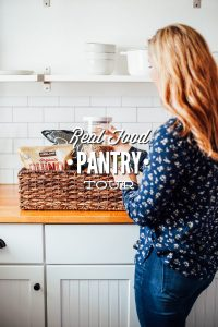 Real Food Pantry Tour: What's in my real food pantry and organization