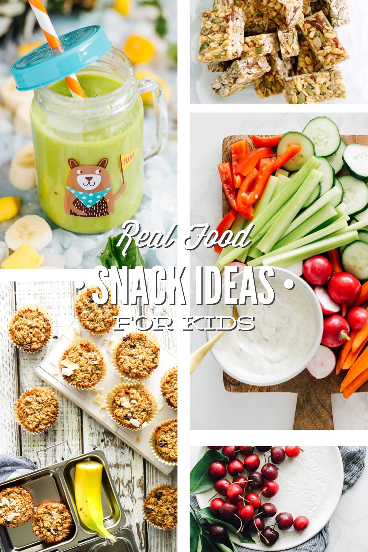 Healthy Kids Snacks Ideas for School and Home