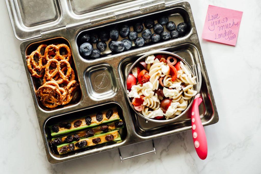 Healthy Lunchbox Idea: Pasta