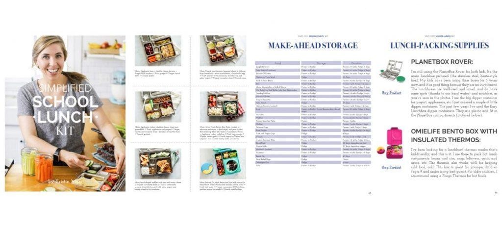 Healthy Lunch Ideas: Simplified School Lunch Kit